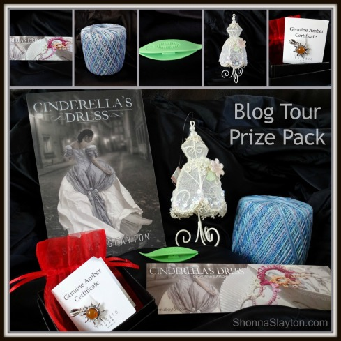 Cinderellas Dress blog tour prizes