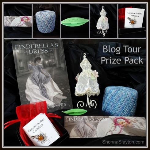 Cinderellas Dress blog tour prizes
