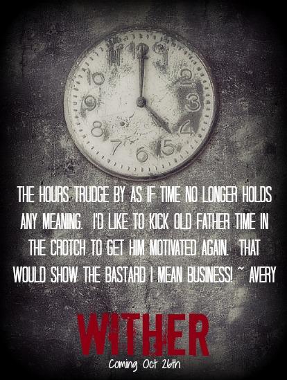 Grunge background with broken clock