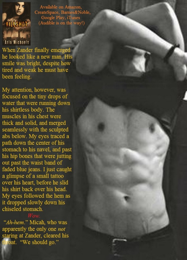 shirtless.Zander